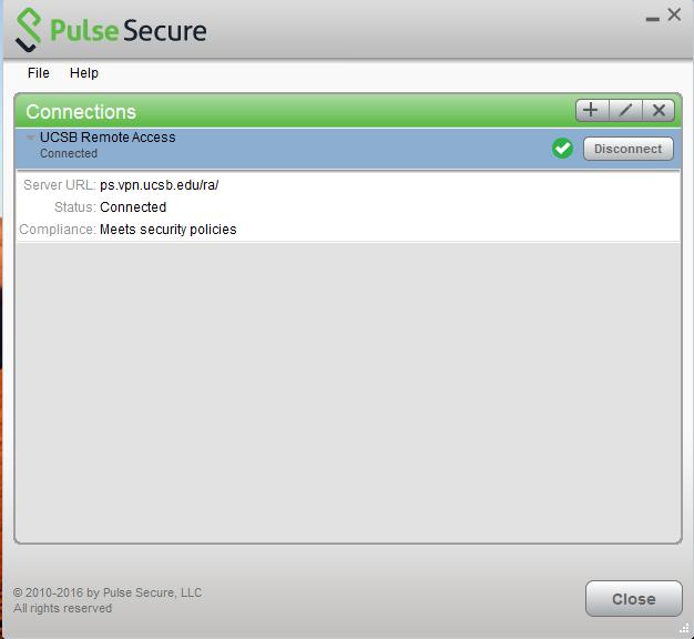 Pulse Secure VPN Client on Windows | UC Santa Barbara