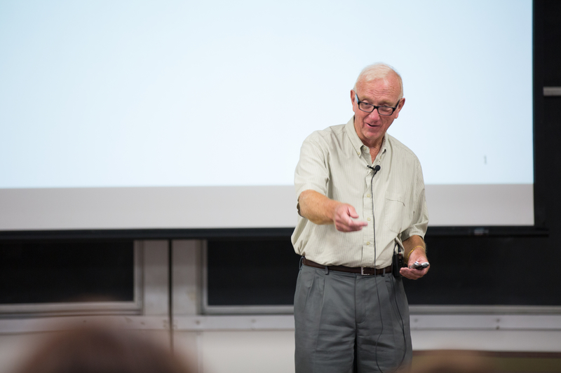 ucsb professor lecturing